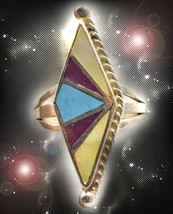 HAUNTED TRIBAL RING THE MASTER RITE OF OCEAN WATERS POWERS OOAK  MAGICK POWER  - $9,077.77