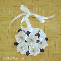 Sand Dollar Christmas Ornament Shell Flower Seashell Coastal Decor Beach... - $14.99