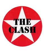 The Clash composite laminated circular wall plaque 250mm punk Sex Pistol... - $32.00