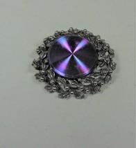 Vintage Jewelrama Purple Holographic Pin - $12.86