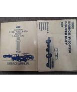 1992 Ford F150 F250 F350 BRONCO TRUCK Service Shop Repair Manual SET OEM... - $153.45