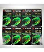 LOT of 8 Fuji Fujifilm HQ 120 Blank VHS VCR Video Cassette Tapes - New - $33.22