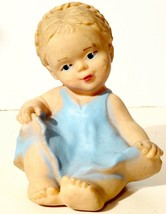 Unknown Maker Baby Doll Squeaky Toy Rubber - $9.89
