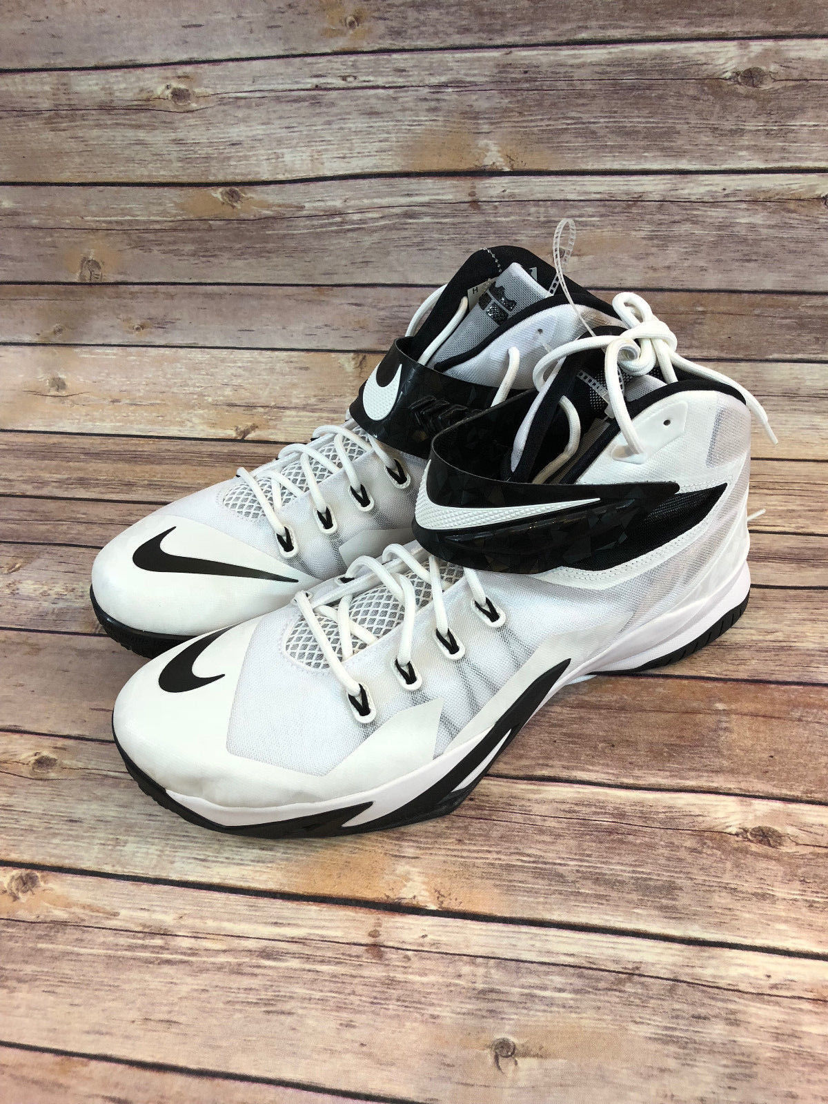 0fa1c9334 Nike 653648-100 Lebron Zoom Soldier 8 White and 50 similar items