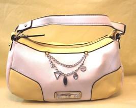 GUESS Small Yellow And White Purse Handbag - $21.78