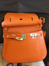 Authentic HERMES Taurillon Clemence Jypsiere Gypsy 28 Shoulder Bag NEW image 10
