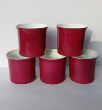 Vintage Rosenthal Germany Porcelain 5 Egg Cups Studio Line Secunda Purpl... - $27.89