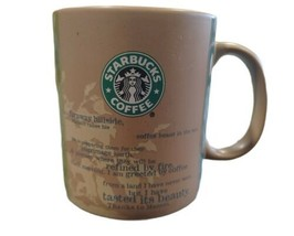 Starbucks 2006 Coffee Land Origin Ceramic Coffee Mug 14 oz. Mermaid. - $11.40