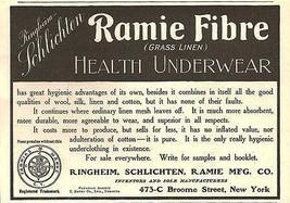 Health Underwear Small Ad Ramie Fibre Grass Linen Ringheim Schlichten Ra... - $12.99
