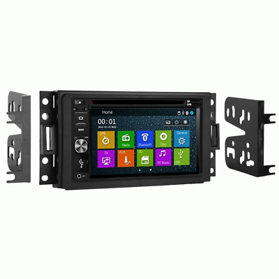 Touchscreen GPS Navigation Bluetooth Radio System for Corvette 05-13 w/ Dash Kit