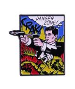 Archer funny quote enamel pin pop danger zone comedy show fans gift - $10.44+