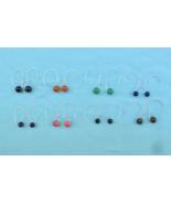 "Sterling Silver ""Trapped Bead"" Earrings, ""Hoop"" style - $20.00"