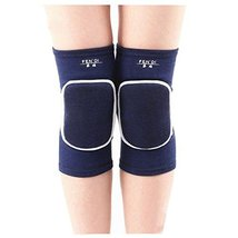 Exercise & Fitness Knee Brace Yoga/Dance/Joint Pain Knee Pads L Blue - $12.95