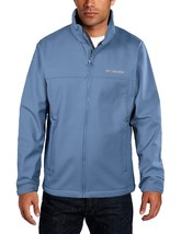 Columbia Men's Mt. Village Softshell Jacket Blue New - $56.06