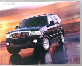2004 Lincoln AVIATOR sales brochure catalog 1st Edition US 04  - $8.00