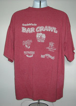 Mens Tradewinds Bar Crawl on St Pete Beach Florida t shirt XXL Just Let Go - $21.73
