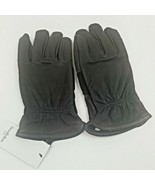 Goodfellow Leather Gloves size M/L Brown new with tags - $13.99