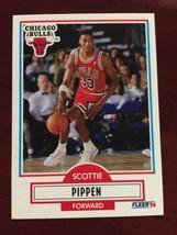 1990-91 Fleer - Scottie Pippen #30 - $0.99