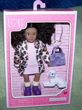 """Lori by Our Generation Ariah 6"""" AA Doll & Winston her puppy New - $22.65"""