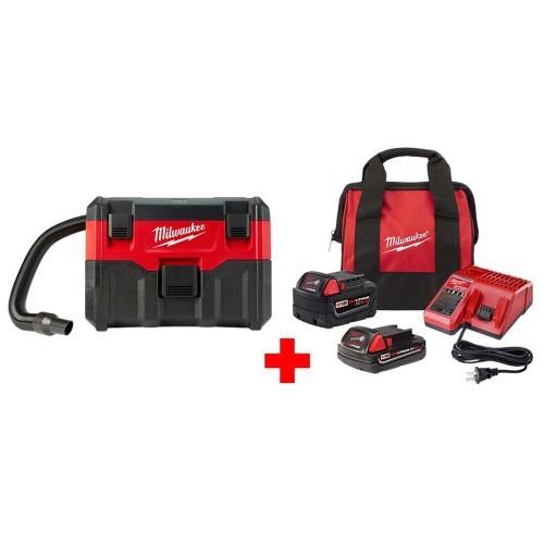 Reds pinks milwaukee wet dry vacuums 0880 20 48 59 1850sp 64 1000