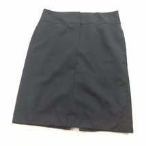 Banana Republic 100 % Wool Pencil Skirt Womens Black Pockets 2 XS Small image 1