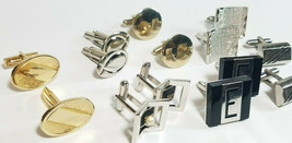 Lot of 7 Sets Vintage Men's Cuff Links SEE PHOTOS FOR DETAILS image 2