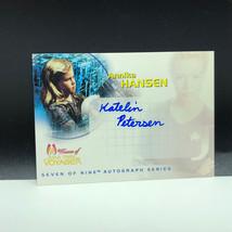 STAR TREK WOMEN OF VOYAGER autograph card Raven auto Annika Hansen SA2 K... - $23.76