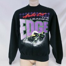 Vintage Arctic Cat Sweatshirt Snowmobile Neon Ski 90s Snowboard Winter A... - $38.99