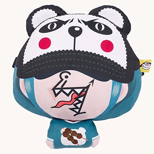 PANDA SUPERSTORE Comfortable Cute Cartoon Car Pillow Auto Accessories Car Headre