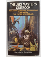 Book 1982 The Jedi Masters Quizbook Vintage Paperback 425 Questions and ... - $12.99
