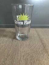 Green Flash BREWING COMPANY Pint Glass San Diego California Taste Enligh... - $18.00