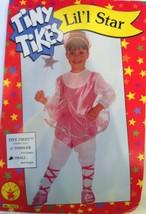 TINY TIKES LIL'L STAR BALLERINA BALLET DANCER GIRLS HALLOWEEN COSTUME SMALL - $18.39