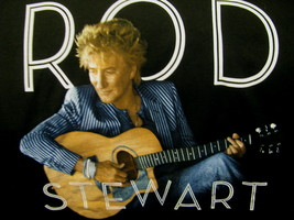 T-Shirt Concert Rod Stewart 2014 Stripes Tour - $39.98