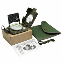 Geology Compass for Professional Military Army Sighting Luminous Compass... - $69.29
