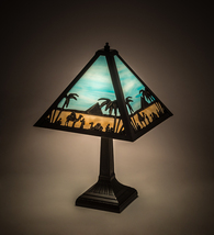 """16""""H Camel Mission Table Lamp - $621.00"""