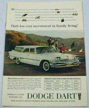 1960 Print Ad The Dodge Dart Station Wagon 1st Fine Economy Car - $9.78