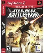 Star Wars Battlefront, Sony PS2 PlayStation 2, Excellent Condition, SHIP... - $19.99