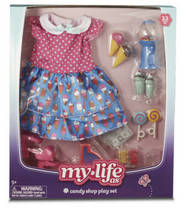 My Life As Candy Shop Play Set 22 Piece Set American Girl Size - $8.90