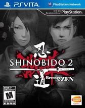 Shinobido 2: Revenge of Zen - PlayStation Vita [video game] - $16.13