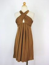 Dress Cocktail Dress Diane Von Furstenberg Silk Jersey Crisscross Dress 0 $450 - $53.46