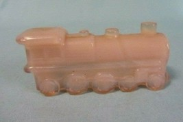 Boyd Glass B In Diamond Boyd Special Train Engine Crown Tuscan Pink - $7.99
