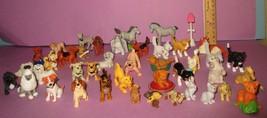 Vintage Puppy in My Pocket MEG Dog 1990s Kitty Topps Figure PVC Toy 40+ Lot - $70.00