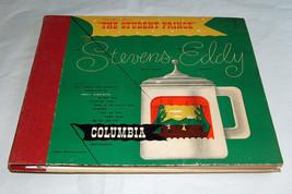 "1948 Columbia Records Stevens Eddy ""The Student Prince ""Record Álbum Jue... - £10.94 GBP"