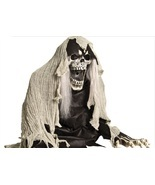 Grim Reaper Coming Out of The Ground Fogger 2 Ft Halloween Prop Decoration  - $65.98