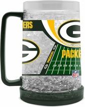 Green Bay Packers 16 oz NFL Crystal Freezer Mug  - NEW - $24.99