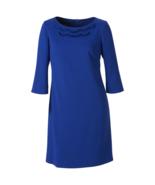 Nine West Women's 3/4 Sleeve Sheath Dress Sapphire 6 #NHEO0-M173* - $39.99