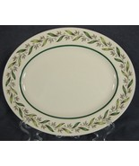 "Royal Doulton ALMOND WILLOW D6373 10"" Oval Serving Platter - $35.95"