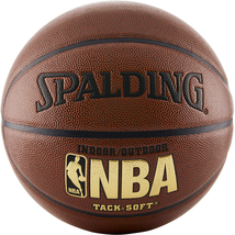 """Spalding NBA Tack-Soft Indoor/Outdoor Basketball Official Size 7 (29.5"""") - $28.09"""