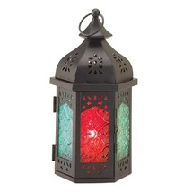 Moroccan Lantern Candle, Rustic Lantern For Candle, Decorative Candle La... - $25.30