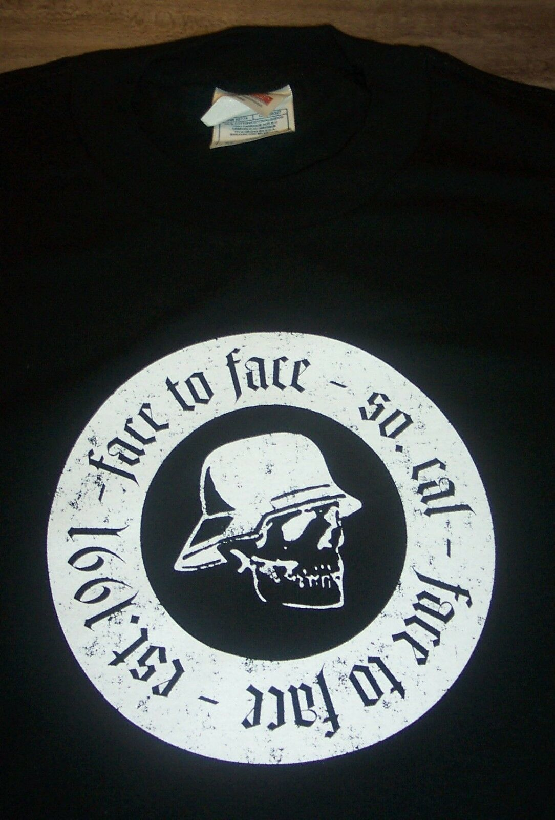 FACE TO FACE EST 1991 Southern Cal PUNK BAND T-Shirt MENS XL NEW